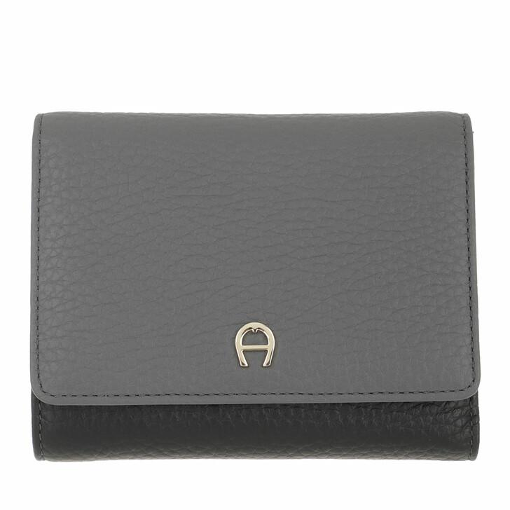 wallets, AIGNER, Tara Wallet Black