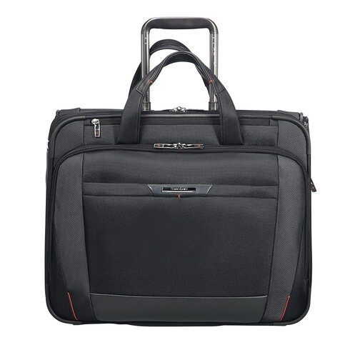 "samsonite -  Laptoptaschen - ""Pro DLX 17,3"""" Laptop Rolling Tote Bag"" - in schwarz - für Damen"