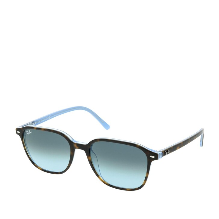 Sonnenbrille, Ray-Ban, 0RB2193 13163M Unisex Sunglasses Icons Top Havana On Light Blue