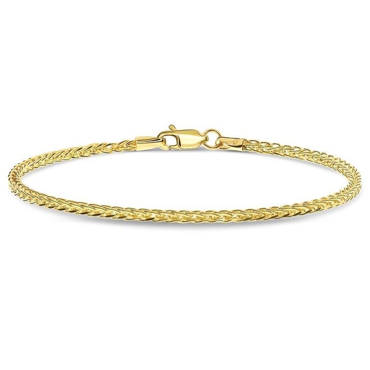 Armreif, DIAMADA, Bracelet 19,5cm 14KT Yellow Gold