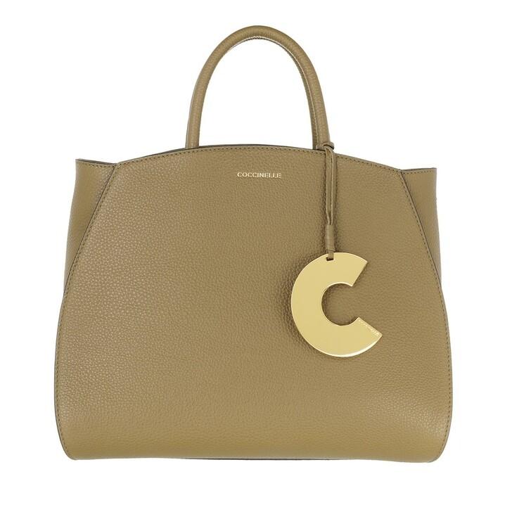 Handtasche, Coccinelle, Concrete Handle Tote Bag Moss Green