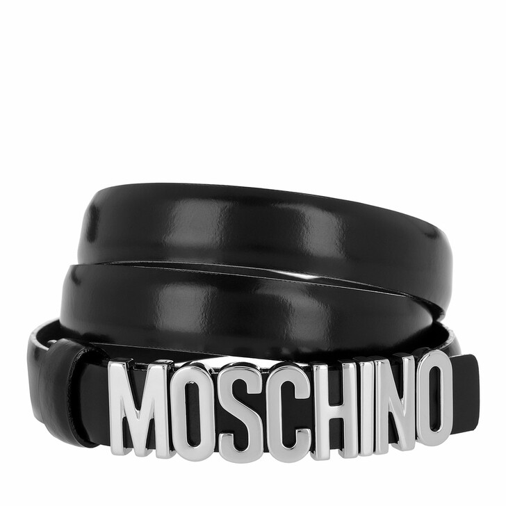Gürtel, Moschino, Belt Black