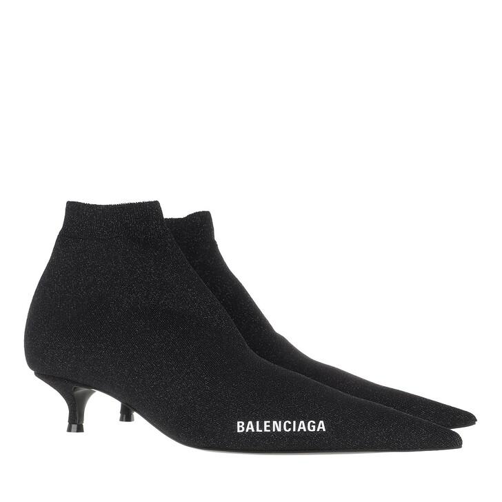Schuh, Balenciaga, Knife Boots Black