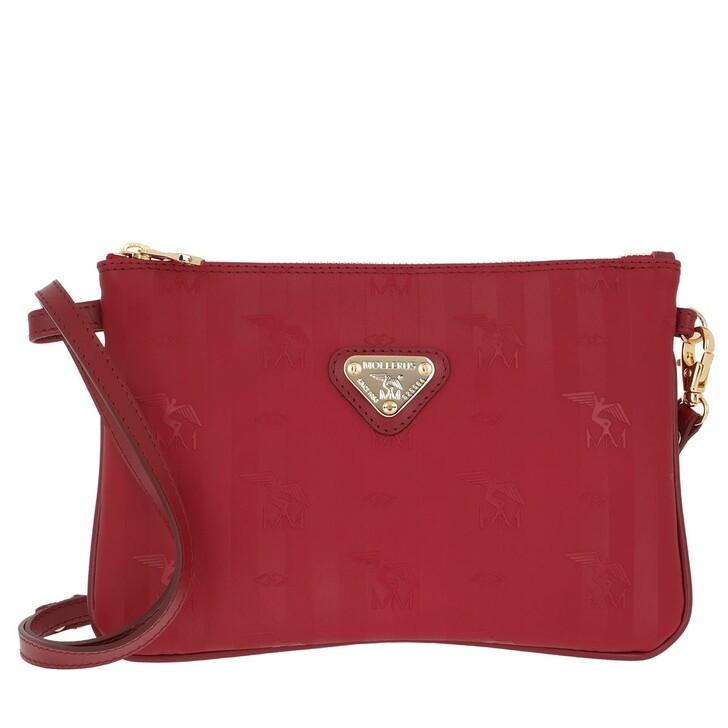 Handtasche, Maison Mollerus, Tamins Crossbody Bag Wine/Gold