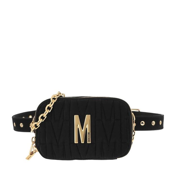 belt_bags, Moschino, Belt Bag Fantasia Nero