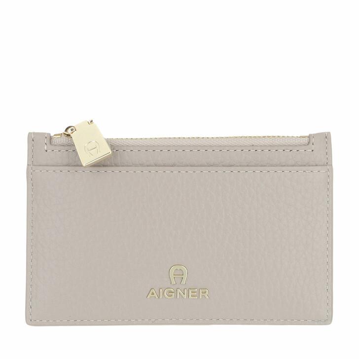 wallets, AIGNER, Ivy Wallet Clay Grey