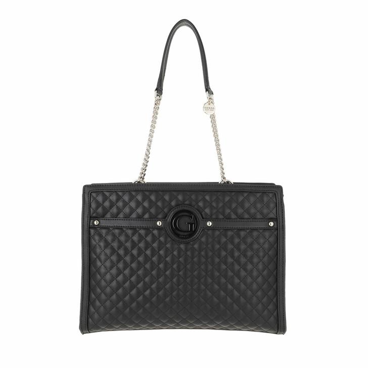bags, Guess, Heyden Girlfriend Tote Black
