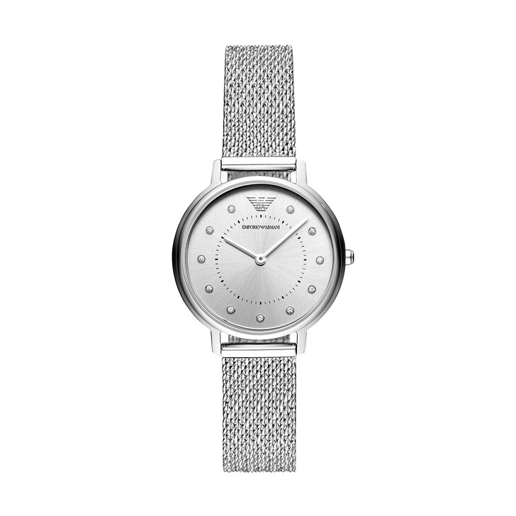 watches, Emporio Armani, AR11128 Ladies Kappa Silver