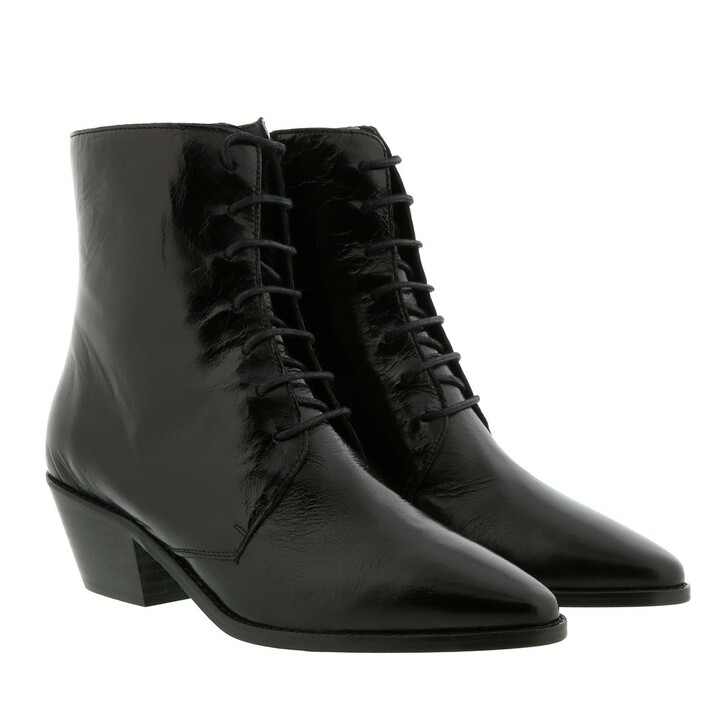 shoes, Zadig & Voltaire, Tyler Laced Vintage Boot Leather Black