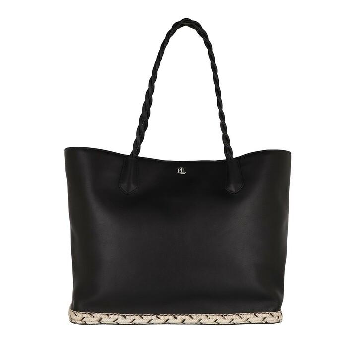 Handtasche, Lauren Ralph Lauren, Hutton 35 Tote Large Black