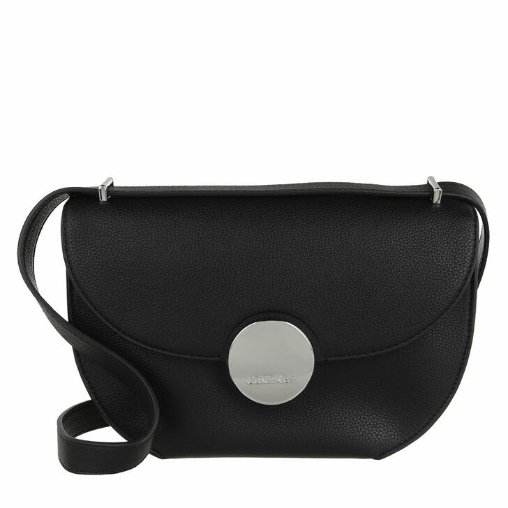 bags, Calvin Klein, CK Luxe Ew Shoulder Bag CK Black