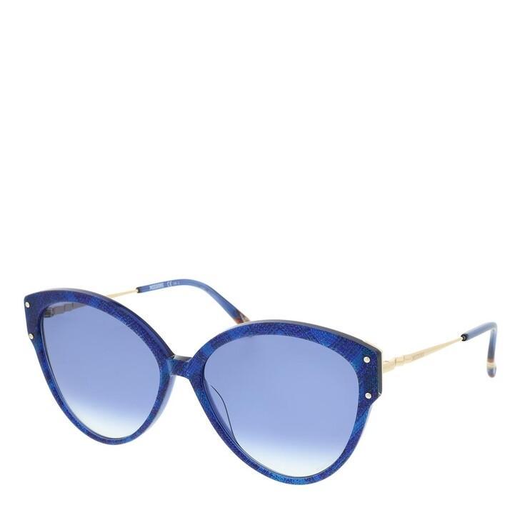 Sonnenbrille, Missoni, MIS 0004/S Blue Pattern