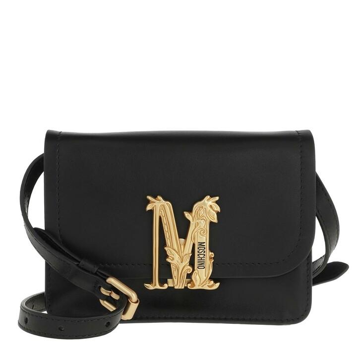 Handtasche, Moschino, Shoulder bag Black