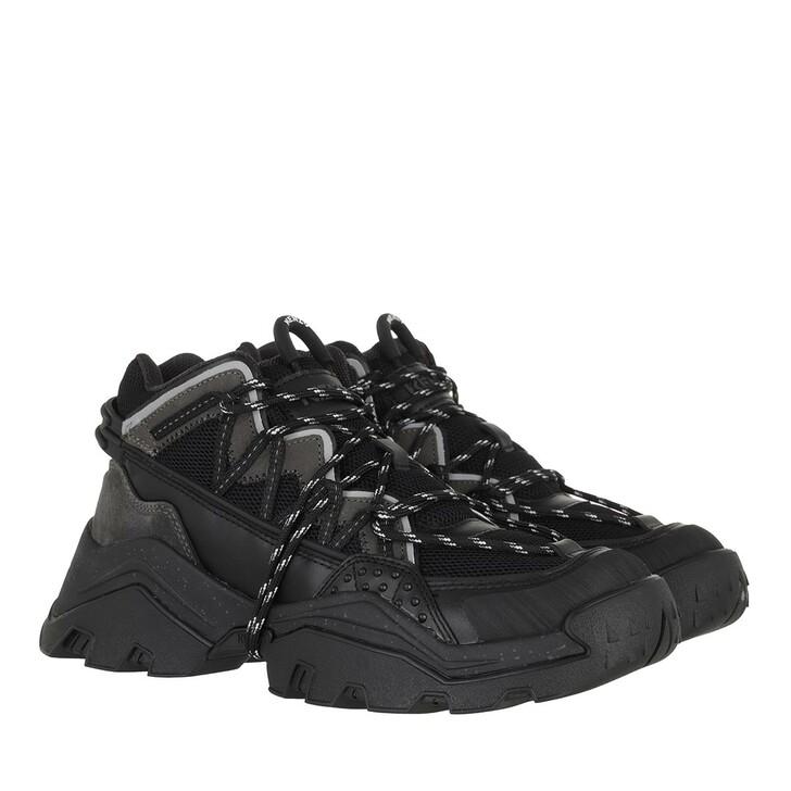 Schuh, Kenzo, Low Top Sneaker Black