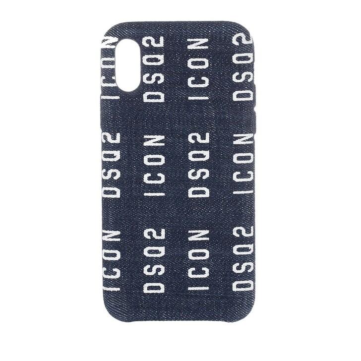 Smartphone/Tablet case (Case), Dsquared2, Icon iPhone X Smartphone Case Denim