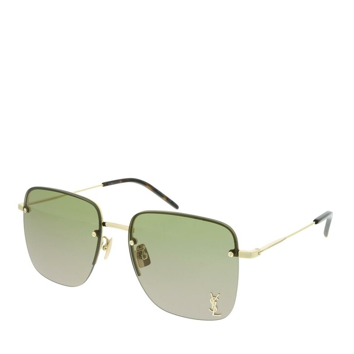 Sonnenbrille, Saint Laurent, SL 312 M-003 58 Sunglasses Woman Gold
