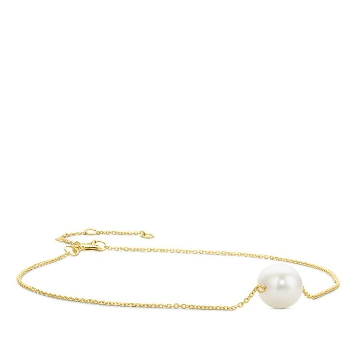 bracelets, DIAMADA, 14KT (585) Pearl Bracelet Yellow Gold