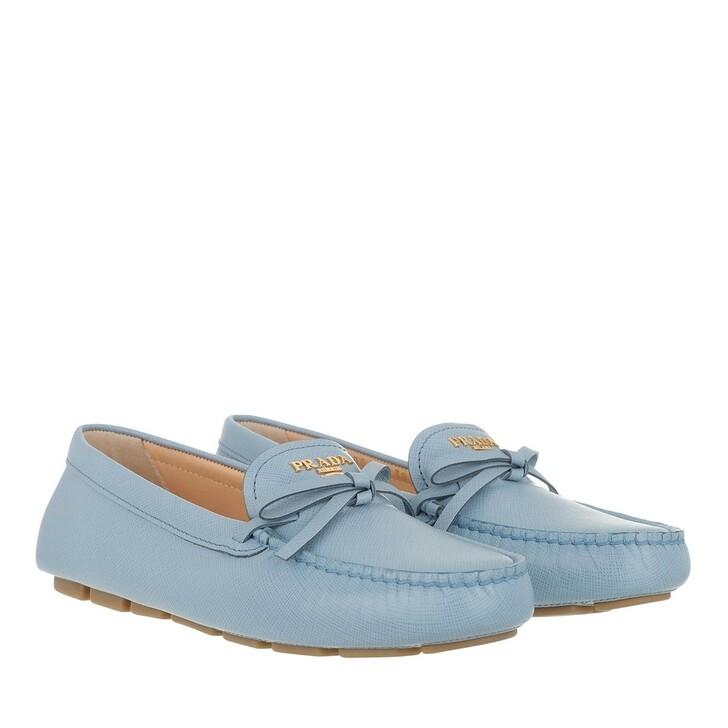 Schuh, Prada, Loafer Leather Light Blue