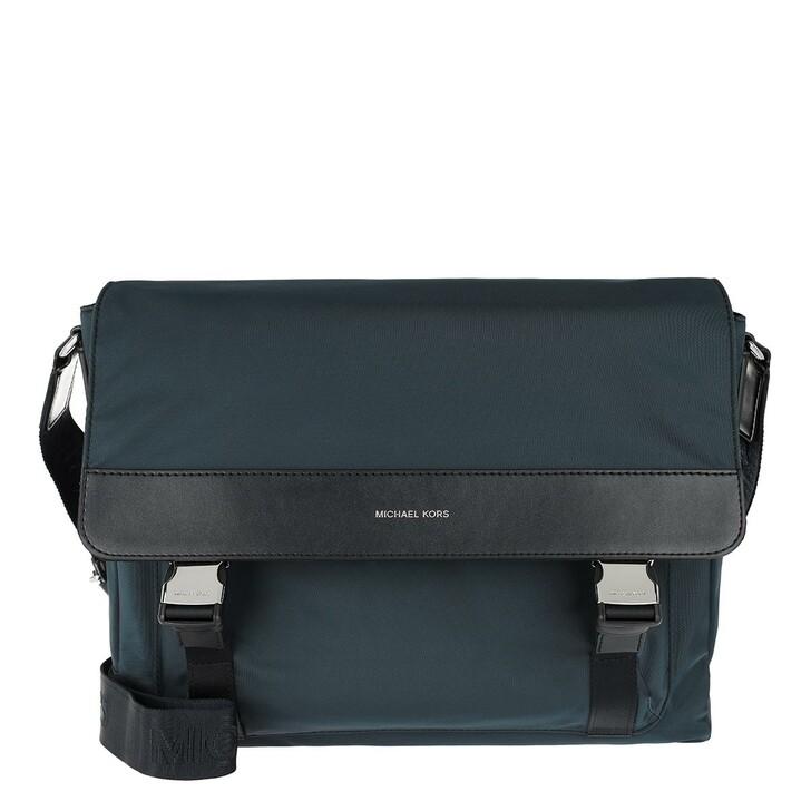 Handtasche, MICHAEL Michael Kors, Men Messenger Laptop Bag Navy