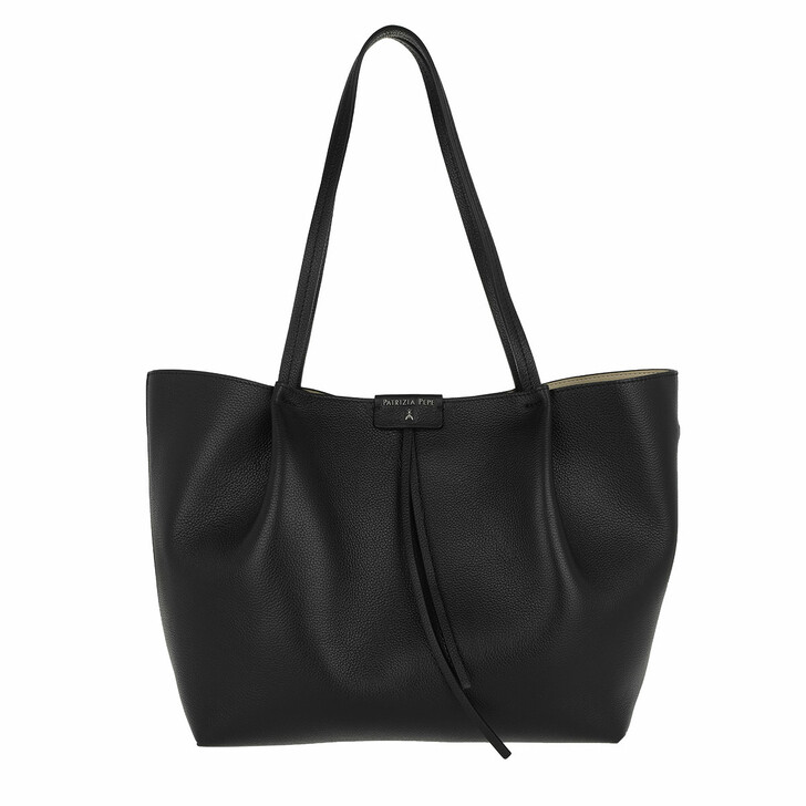Handtasche, Patrizia Pepe, Shopping Bag Nero