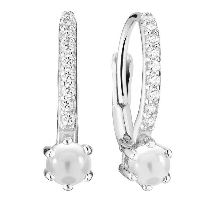 earrings, Sif Jakobs Jewellery, Rimini Altro Earrings Pearl Sterling Silver