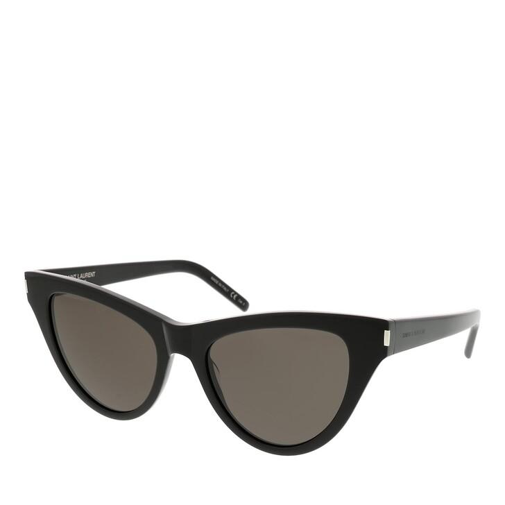 Sonnenbrille, Saint Laurent, SL 425-001 54 Sunglass WOMAN ACETATE BLACK