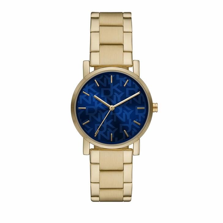 watches, DKNY, Women's Soho Three-Hand Alloy Watch NY2969 Gold