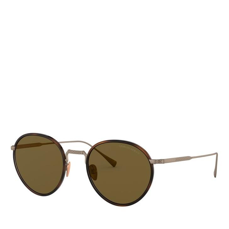 sunglasses, Giorgio Armani, 0AR6103J Moro Havana/Bronze