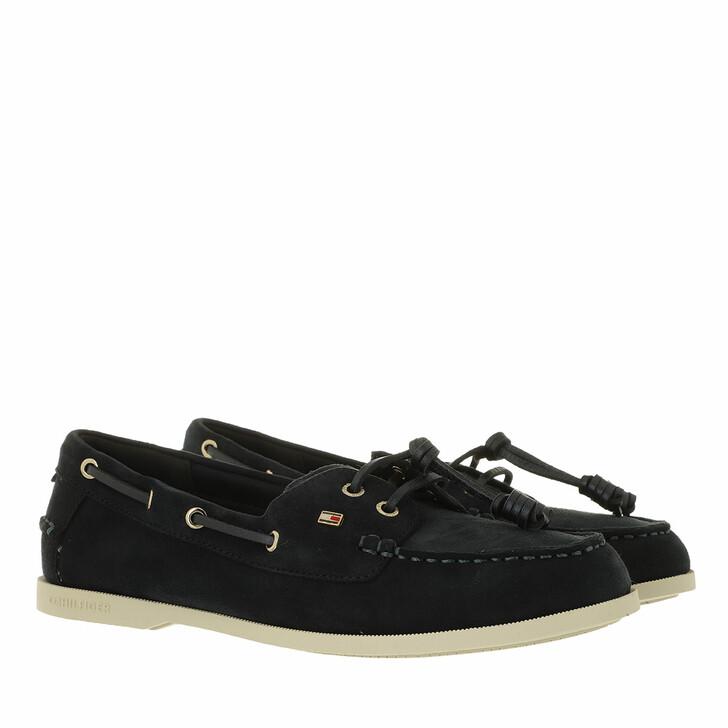 Schuh, Tommy Hilfiger, Tommy Essential Boat Shoes Desert Sky