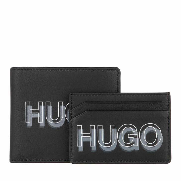 Geldbörse, Hugo, Card Holder Black
