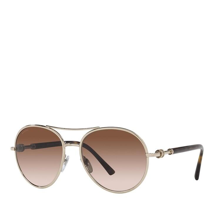 sunglasses, BVLGARI, 0BV6156 PALE GOLD