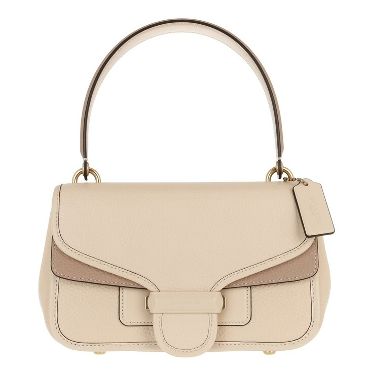 Handtasche, Coach, Colorblock Leather Cody Shoulder Bag Ivory Taupe Multi
