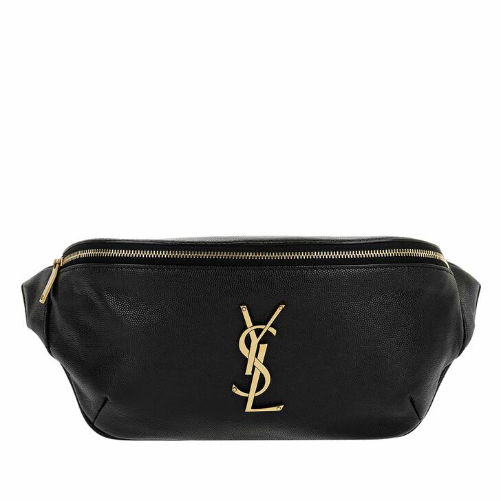belt_bags, Saint Laurent, YSL Belt Bag Black