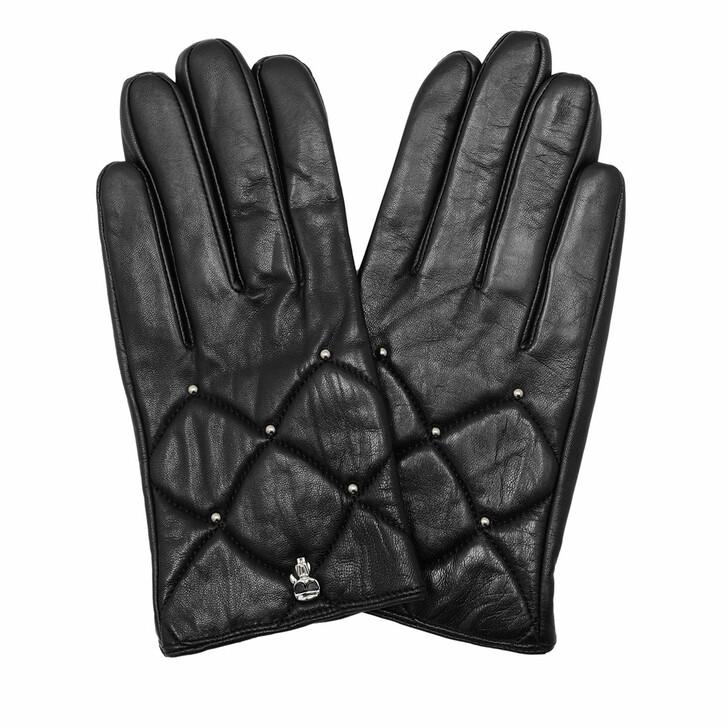 gloves, Karl Lagerfeld, K/Ikonik 3d Pin Glove A999 Black