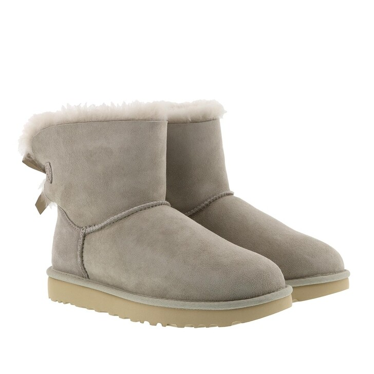 shoes, UGG, Mini Bailey Bow Boot Goat