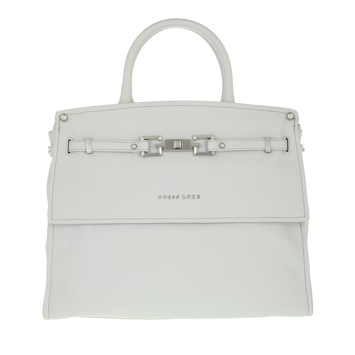 Handtasche, Guess, Megan Top Handle Flap Grey