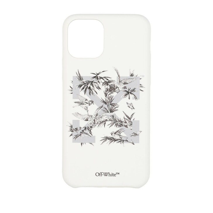 Smartphone/Tablet case (Case), Off-White, Birds 11Pro Cover White Grey