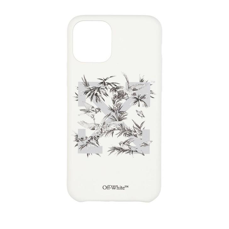 smart_cases, Off-White, Birds 11Pro Cover  White Grey