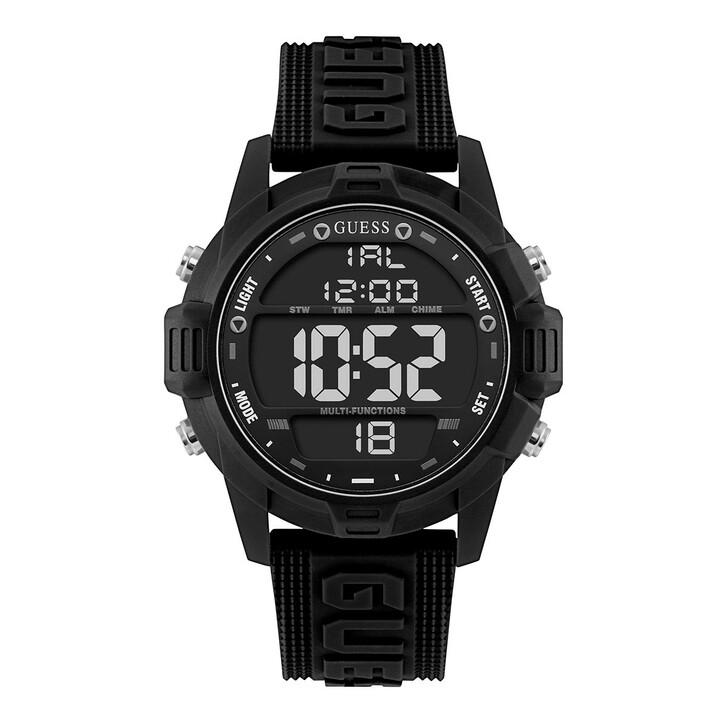 watches, Guess, Men Quartz Watch Charge Black