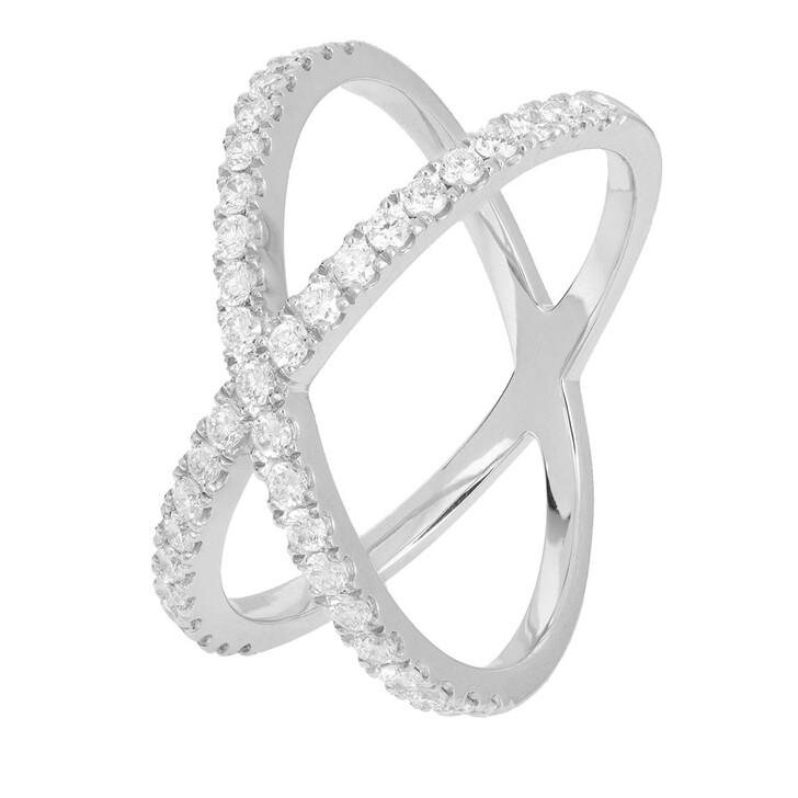 rings, VOLARE, Ring 41 Brill 0.60 Platinum