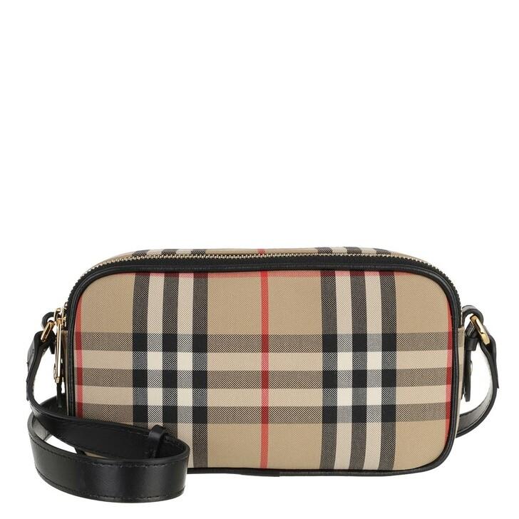 Handtasche, Burberry, Mini Camera Bag Vintage Check Archive Beige
