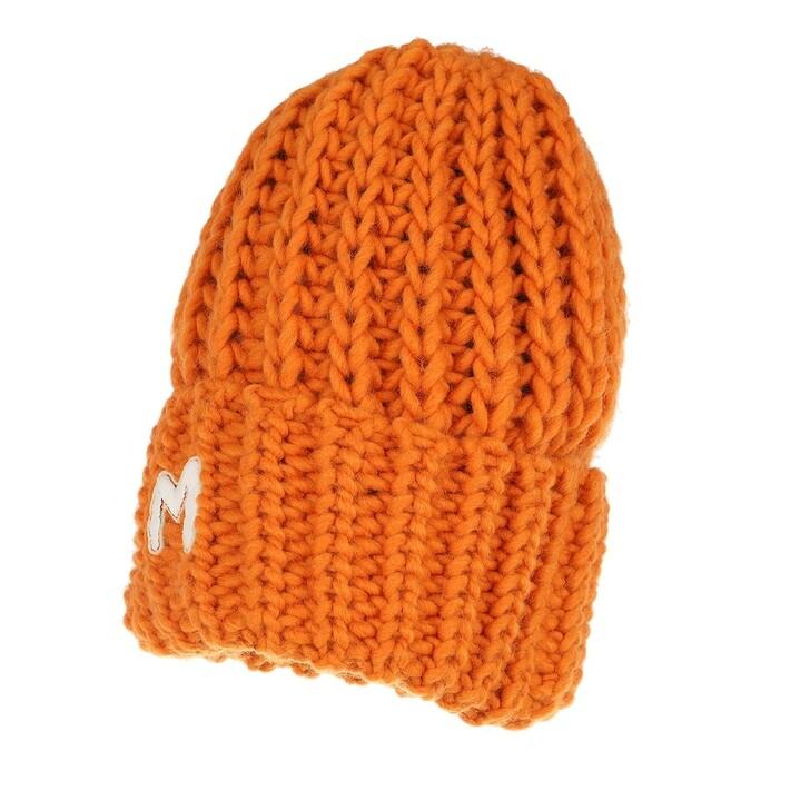 hats, M Missoni, Beanie Orange