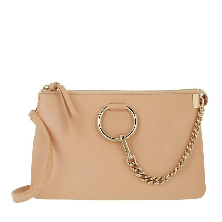 bags, Chloé, Faye Soft Zipped Shoulder Bag Sandy Beige