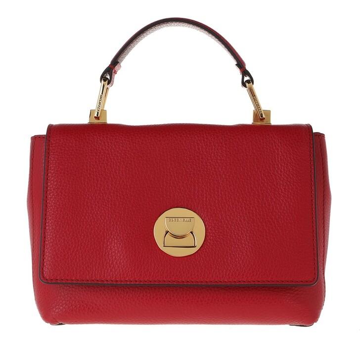 Handtasche, Coccinelle, Liya Clutch Bag Ruby/Marsala