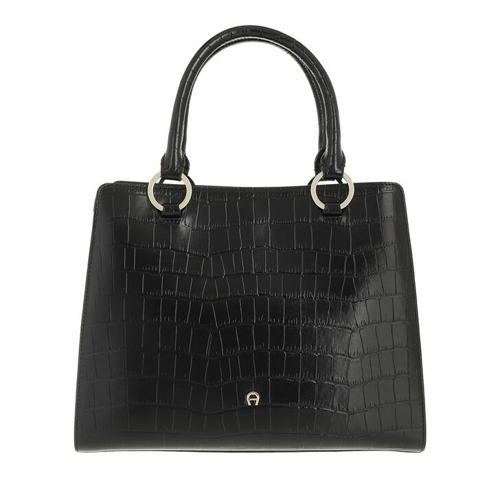 bags, AIGNER, Felina Handbag Black
