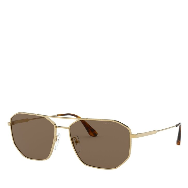 Sonnenbrille, Prada, METALL MAN SONNE GOLD