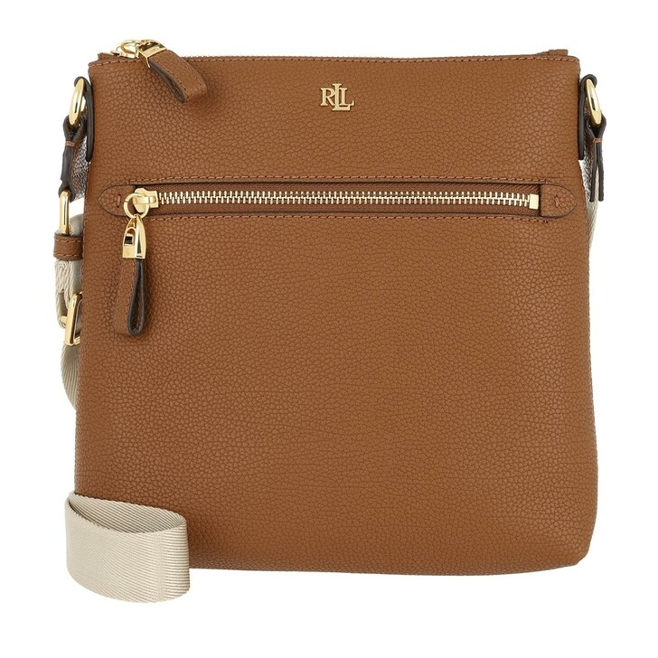 Handtasche, Lauren Ralph Lauren, Jetty Crossbody Bag Medium Lauren Tan