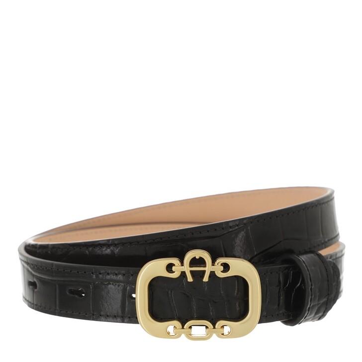 belts, AIGNER, Celia Belt 2,5 cm Black