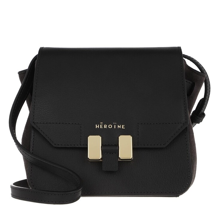 bags, Maison Hēroïne, Sabina Crossbody Bag Black