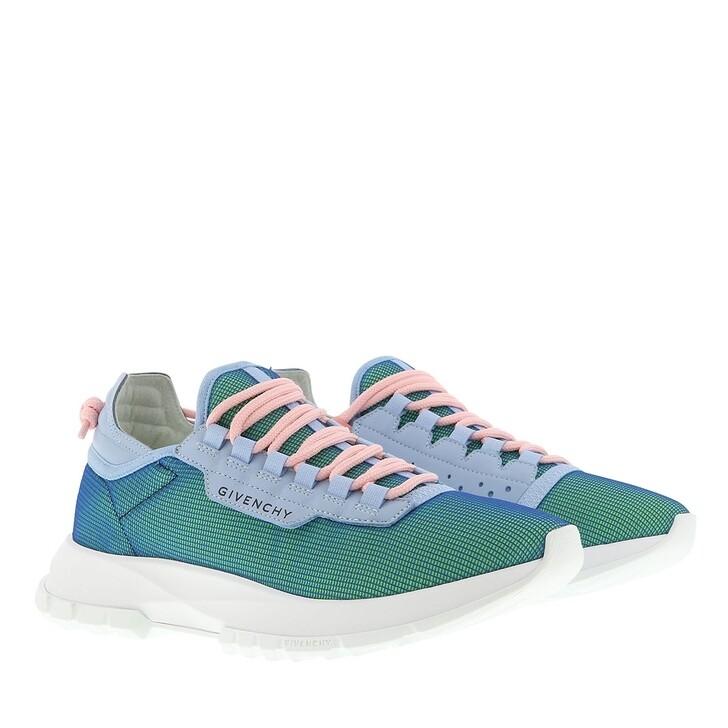 Schuh, Givenchy, Spectre Low Sneaker Blue Pistachio